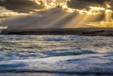 Shoreline Low Tide Sunrise, from Kaehu Point, Mo'Omomi Preserve, Nature Conservancy Fotografisk trykk av Richard Cooke III