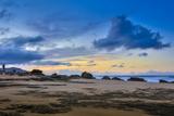 Sandy Shore at Kaehu Point, Mo'Omomi Beach, Nature Conservancy, Molokai, Hawaii Fotografisk trykk av Richard Cooke III