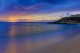 After Sunset at Papohaku Beach, West End, Molokai, Hawaii Fotografisk trykk av Richard Cooke III