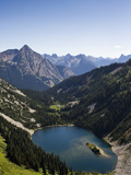 A Small Lake in the North Cascades National Park Metal Print by Michael Hanson