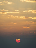 Sunrise over the Indian Ocean Metal Print by Jeff Mauritzen