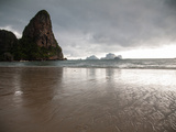 Afternoon Storm Approaching Railay Beach, Thailand Metal Print by Erika Skogg