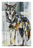 Mexican Gray Wolf Print van Britt Freda