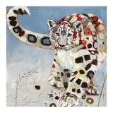 Snow Leopard Prints by Britt Freda