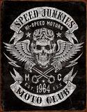 Speed Junkies Plaque en métal