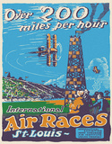Air Races Carteles metálicos