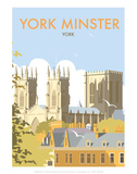 York Minster - Dave Thompson Contemporary Travel Print Art by Dave Thompson