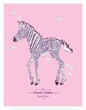 Zebra - WWF Contemporary Animals and Wildlife Print Posters by  WWF