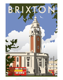Brixton - Dave Thompson Contemporary Travel Print Posters by Dave Thompson