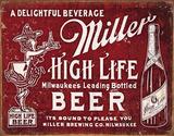 Miller - Bound To Please Plaque en métal