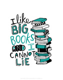 Big Books - Katie Abey Cartoon Print Pôsters por Katie Abey