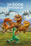The Good Dinosaur- Cast Of Characters Print