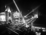 Le Jour De L'Ouverture Opening Day a Hollywood 1927 Salle De Cinema Foto