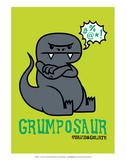 Grumposaur - David & Goliath Print Pôsters por  David & Goliath