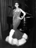 English Singer Shirley Bassey C. 1957 Photo