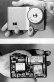 Miniature Radio Set in 1957 Foto