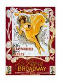 Cover Girl (La Reine De Broadway) De Charlesvidor Avec Rita Hayworth, Lee Bowman, 1944 Posters