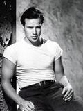 A Streetcar Named Desire, Marlon Brando 1951 Photographie