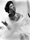 Sarah Vaughan (1924-1990) American Jazz Singer and Pianist C. 1945 Photographie
