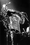 Bob Marley En Concert De Reggae Au Roxy, Los Angeles Le 26 Mai 1976 Photographie