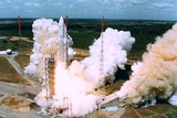 Launching of Of the Second Ariane-5, Kourou, French Guiana on 30 October 1997 Foto
