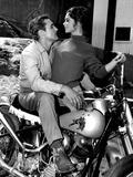 Key Witness, Dennis Hopper, Susan Harrison, 1960 Valokuva