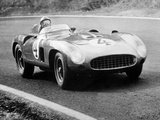 Racing Driver Fangio Here at the Wheel During Great Sweden Prize Race August 1956 Fotografia
