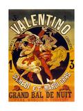 Cabaret Valentino Pour Un Grand Bal De Nuit Samedi Et Mardi Gras Posters