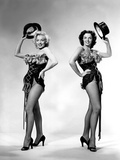 Gentlemen Prefer Blondes, Howard Hawks, Marilyn Monroe, Jane Russell, 1953 Foto