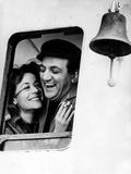 Le Bateau D'Emile De Denysdelapatelliere Avec Annie Girardot Et Lino Ventura 1962 Photographie