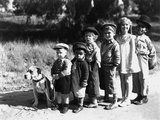 Serie Televisee Les Petites Canailles the Little Rascals, 1933 Foto
