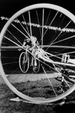 Cyclist Jacques Anquetil Failed in the Attempt of Breaking World Record October 22, 1955 Foto