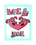 Me & You - Tommy Human Cartoon Print Posters by Tommy Human