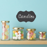 Chalkboard Label Wall Decal