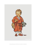 Bedtime - Alfie Illustrated Print Poster von Shirley Hughes