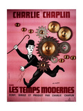 Modern Times, Charlie Chaplin, 1936 Posters