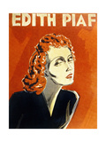 Edith Piaf (1915-1963) French Singer, C. 1930 Plakater