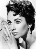 American Actress Liz Taylor C. 1954 Foto