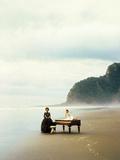 La Lecon De Piano the Piano De Jane Campion Avec Holly Hunter, Anna Paquin, 1993 (Palmed'Or1993) Photographie