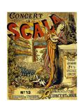 Concert La Scala Boulevard De Strasbourg ポスター