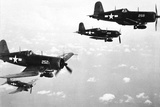 F4U Corsair Planes, Us Airforce, Used from 1943 Photo