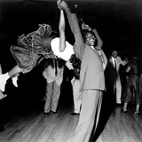 Couple Dancing at Savoy Ballroom, Harlem, 1947 Photographie