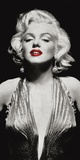 Marilyn in Evening Dress Posters por Anonymous