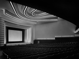 "Movie Theater ""Normandie"" in Paris Built in 1937 Photo"