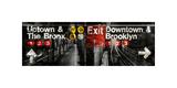 NYC Subway Station III Reproduction procédé giclée par Luke Wilson