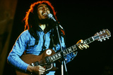 Bob Marley on Stage at Roxy Los Angeles May 26, 1976 Fotografía