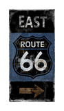 Route 66 East Giclee Print by Luke Wilson