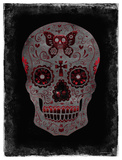 Day of the Dead in Red Giclee Print by Martin Wagner