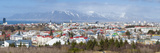 Panoramic View across the City of Reykjavik, Iceland, Polar Regions Photographic Print by Chris Hepburn