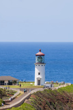 Historic Kilauea Lighthouse on Kilauea Point National Wildlife Refuge Reproduction photographique par Michael DeFreitas